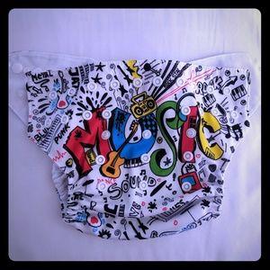 BABYGOAL music cloth pocket diaper